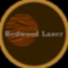 redwood laser wood engraving logo