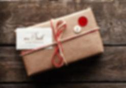 Eingepacktes Paket