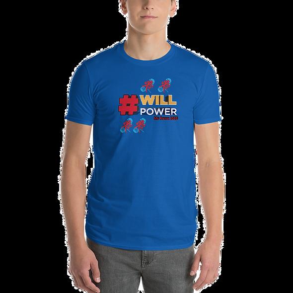 #WILLPOWER AIDS WALK Short-Sleeve T-Shirt