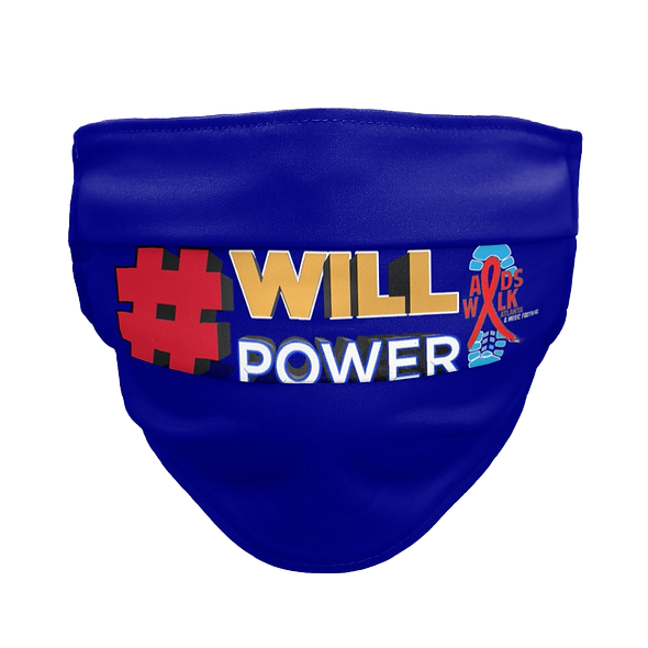 #willpower - Face Mask