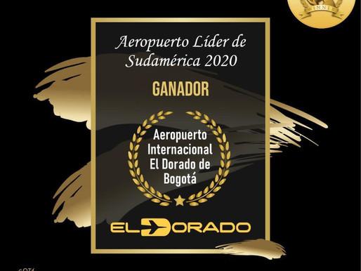 El Dorado, reconocido como Aeropuerto Líder en Suramérica