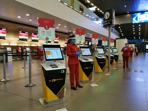 El Aeropuerto El Dorado abre de nuevo sus puertas a la operación de vuelos nacionales