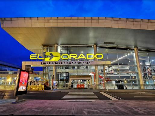 Operación en El Dorado ante las medidas tomadas por la Alcaldía Mayor de Bogotá