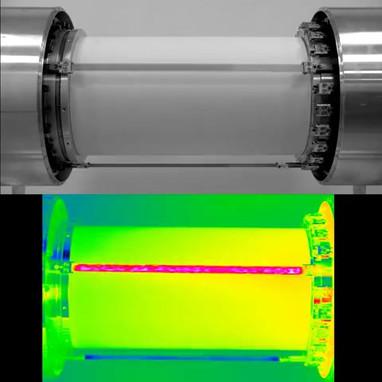 Elastokalorischer Luftkühldemonstrator