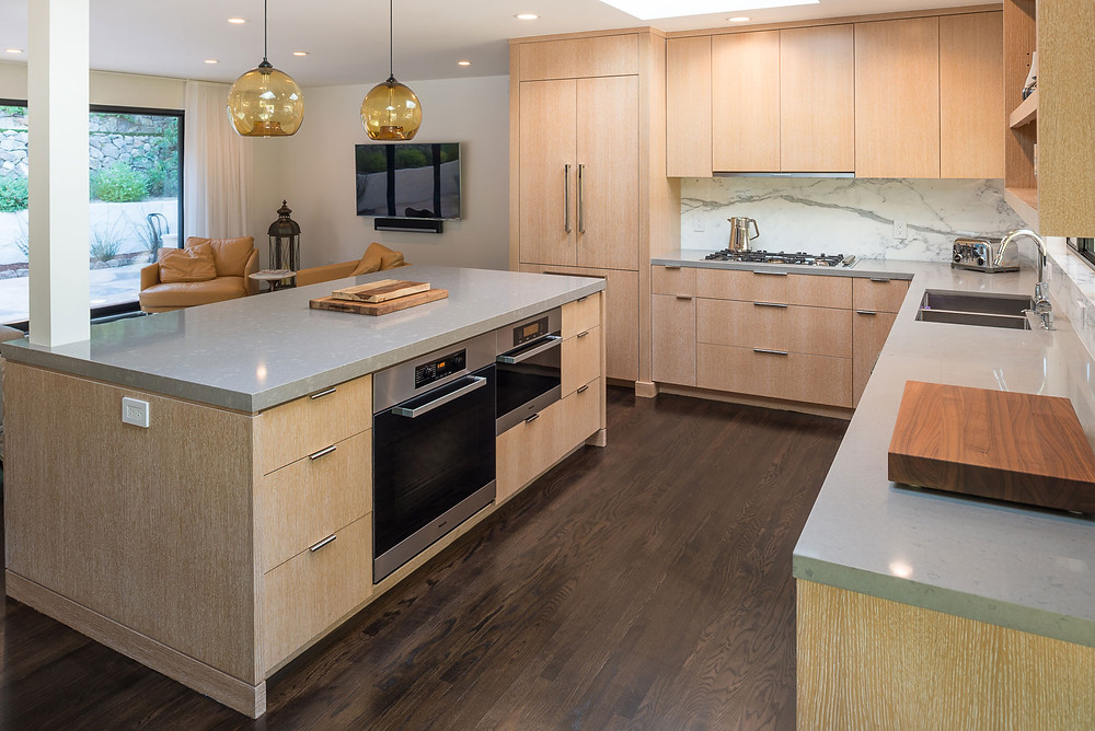 laminate vs hardwood solid wood floors in the kitchen