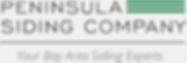 Peninsula Siding Company Logo