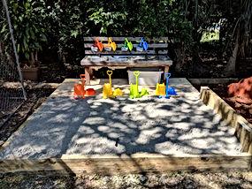 Sand-pit-playground