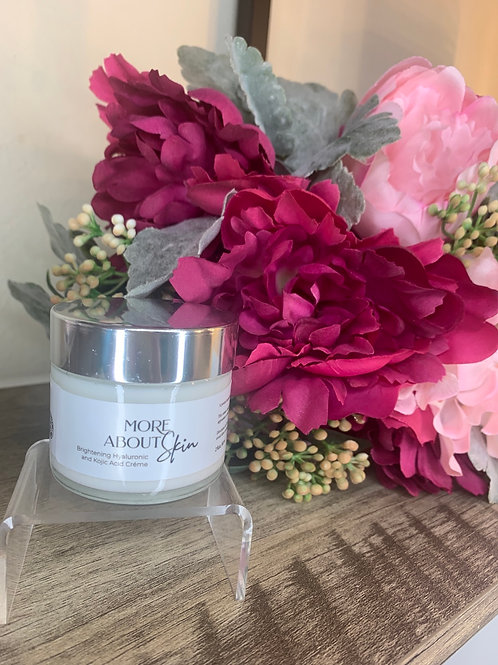Brightening Coconut Hyaluronic and Kojic Acid Crème
