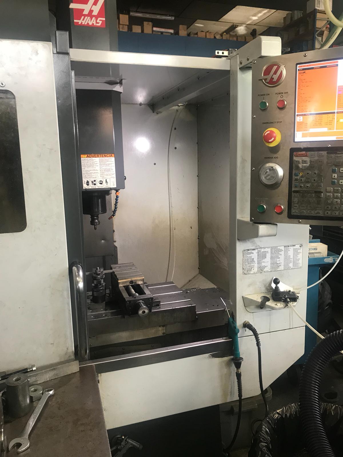 centro mecanizado HAAS de ocasión