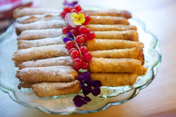 almond and pistachio cigars
