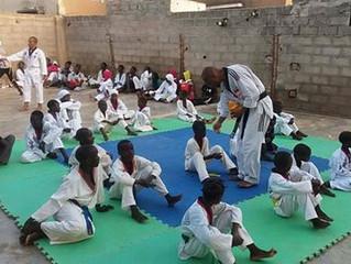 Un professeur d'Académie Grand Lyon au Sénégal