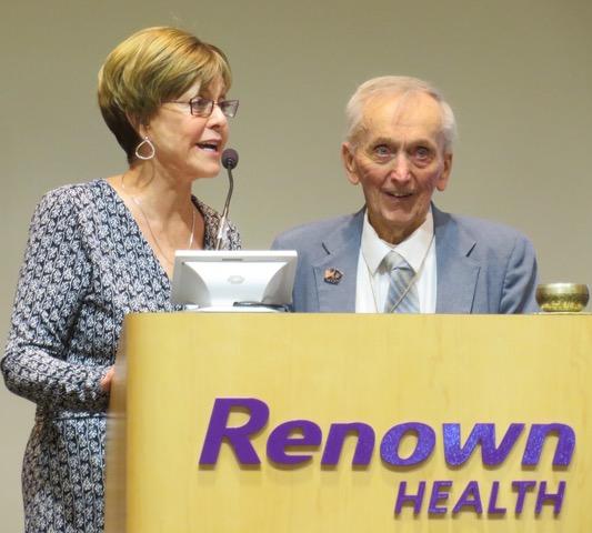 Honoring Rev. Stover