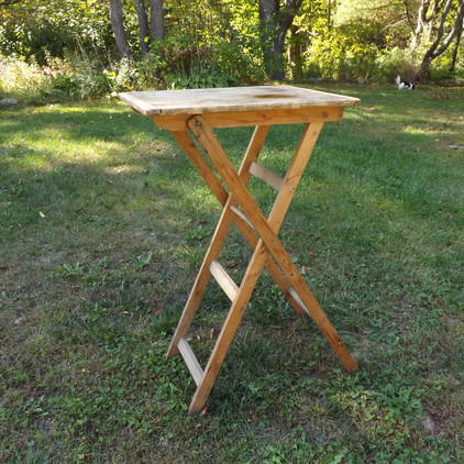 Pub Height Folding Table