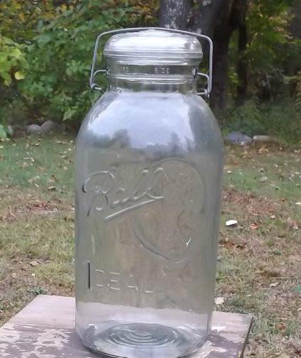 Extra large mason jar