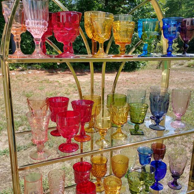 Rainbow Goblets