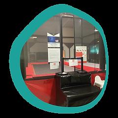 Trampoline interactif -L'ÎLOT KIDS -Aire de jeux couverte - Ambérieu 01