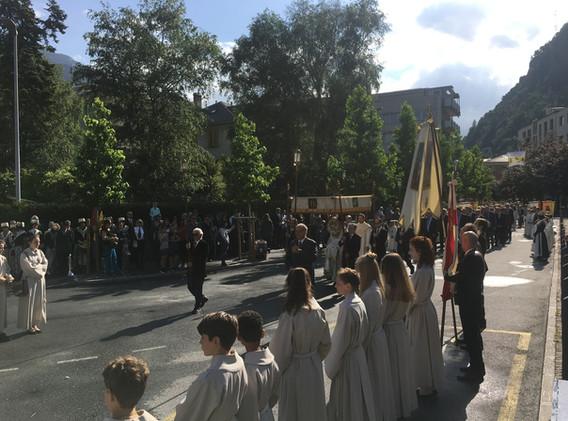 Frohnleichnam 2018 - Prozession