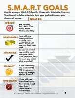 SMART goals worksheet GOAL#2