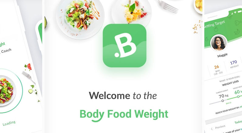 eat right calorie counter, welcome page