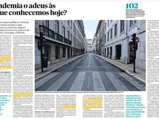 """""""Será a pandemia o adeus às cidades que conhecemos hoje?"""" - Público 13.abr.2020"""