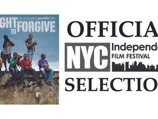 THE FIGHT TO FORGIVE at the NYC Independent Film Festival