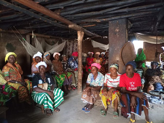 Meeting with Traditional Women of Lofa County