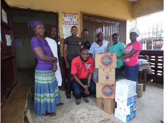 Monrovia Clinic Re-supply: July, 2015