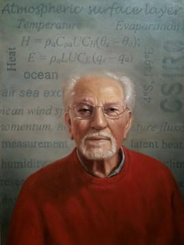 Climate scientist, Dr Frank Bradley