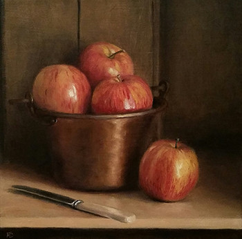 Copper and apples