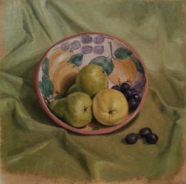 Pears in Bev's bowl