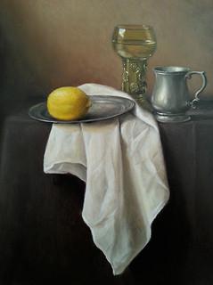 Roemer, lemon and pewter