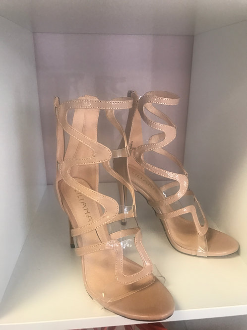 Nude and Clear Heels