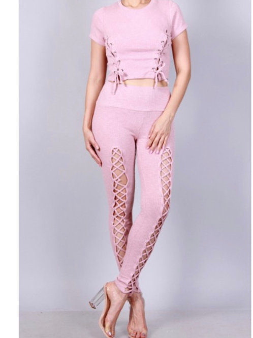 Light Pink Two Piece