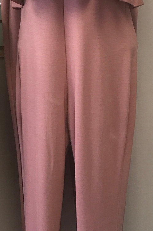 Pink Jumpsuit with Cocker