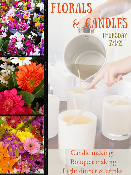 Florals & Candles Event