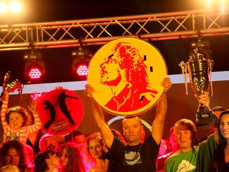 """Rimantė ir Tzvetan - """"Albania Open -  Tomo taurė"""" laimėtojai"""