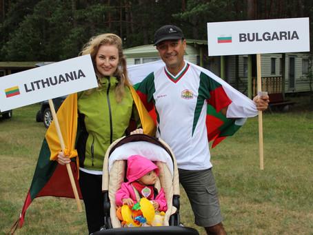 IX FAI Pasaulio parasparnių tikslaus nusileidimo čempionatas Albanijoje: lietuvės ir bulgaro pora ve