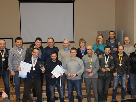 Tzvetan and Rimantehave been awarded a Certificate of Appreciation from the President of Lithuania