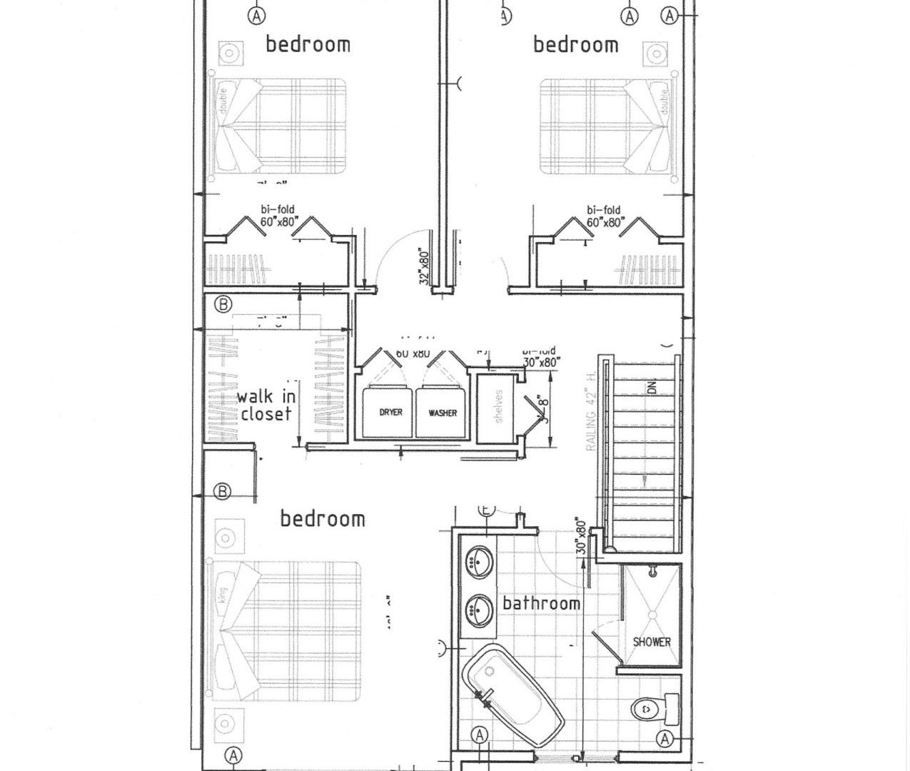 Semi Detached Floor Plan - 2nd Level .jp