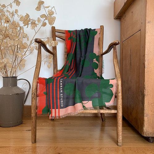 Springtime Silk/Wool Blend Scarf