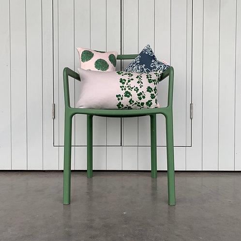 Limited Edition Springtime Cushion (Pale Grey)