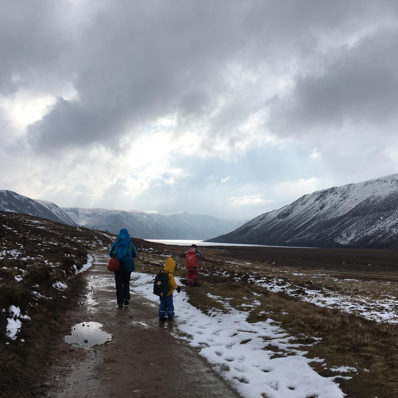 Walking in to the Glen