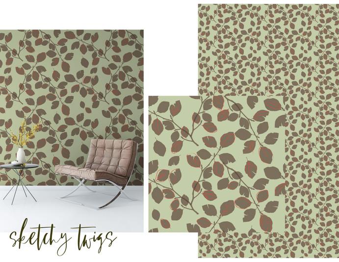 Wallpaper Concept Board