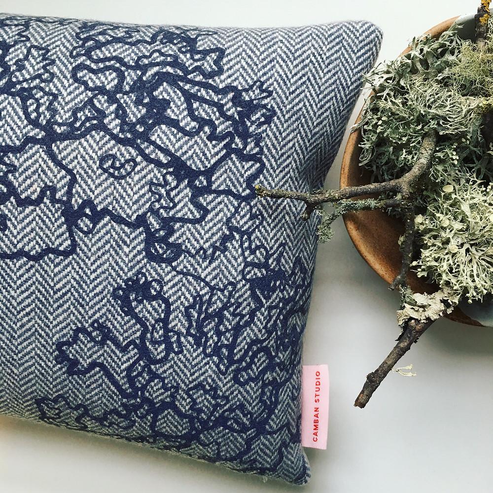 Camban studio Lace Lichen Biophilic pattern design