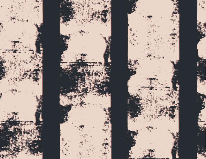 Repeat pattern - 'Birch' in Navy