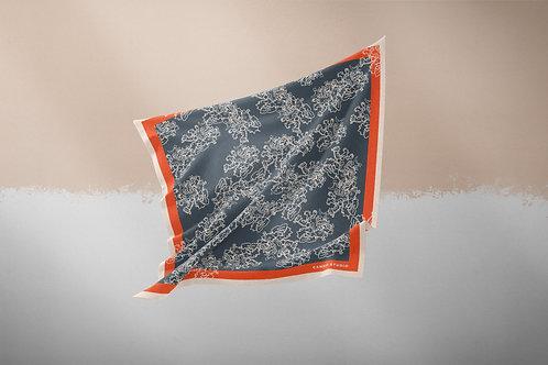 Lace Lichen Silk Shawl