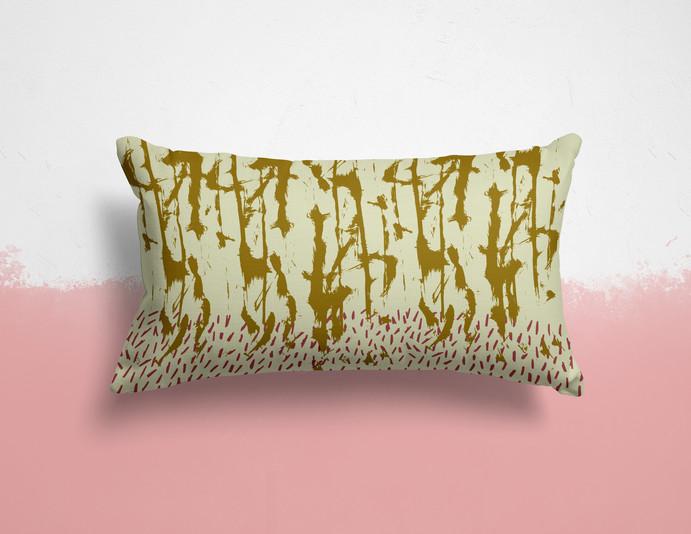Fabric Concept - 'Painterly Birch'