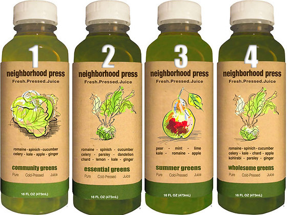Greens 4 Pack