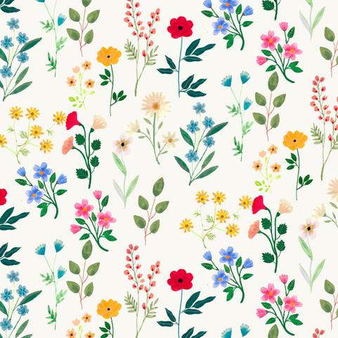 Spring Botanicals Pattern
