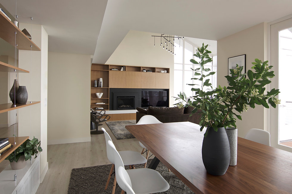 modern living and dining room design ideas
